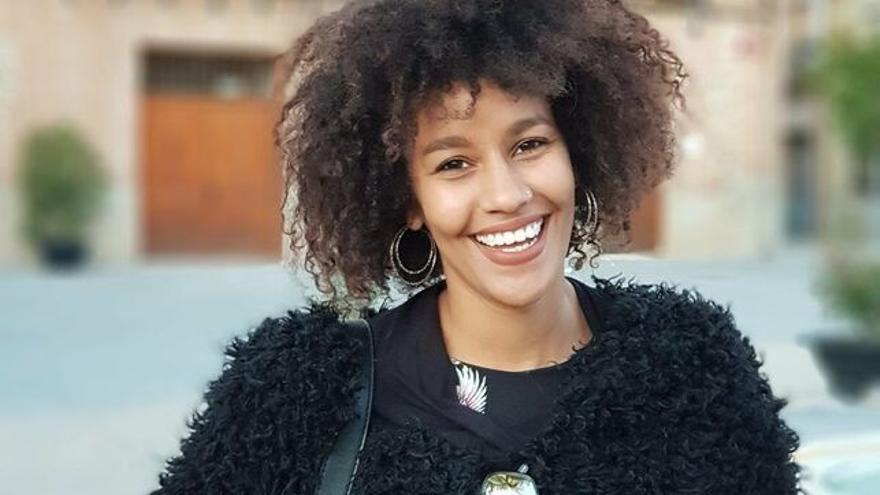 La activista saharaui Lala el Mami Omar.