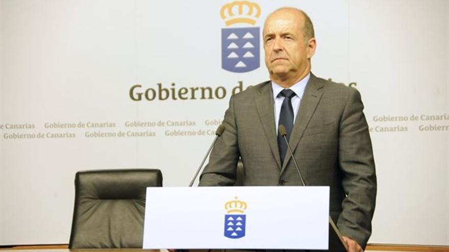 El consejero de Industria del Gobierno de Canarias, Pedro Ortega