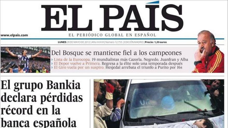 De las portadas del día (28/05/2012) #7