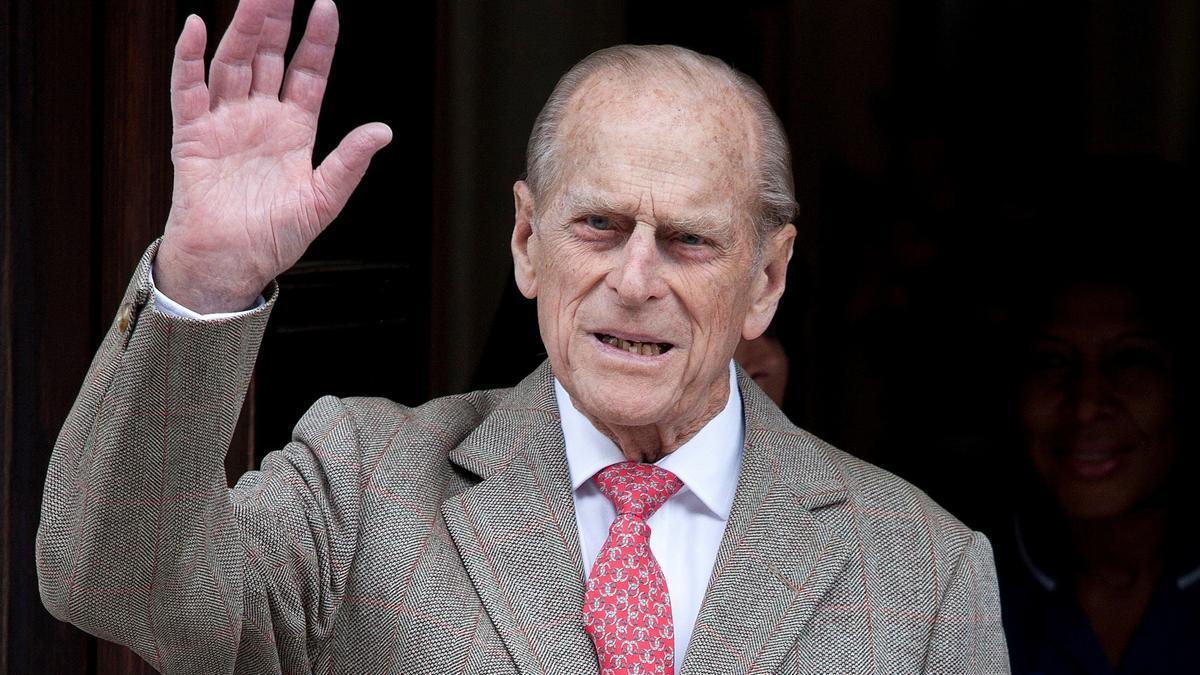 El duque de Edimburgo, el príncipe Felipe. EFE/EPA/KAREL PRINSLOO/Archivo