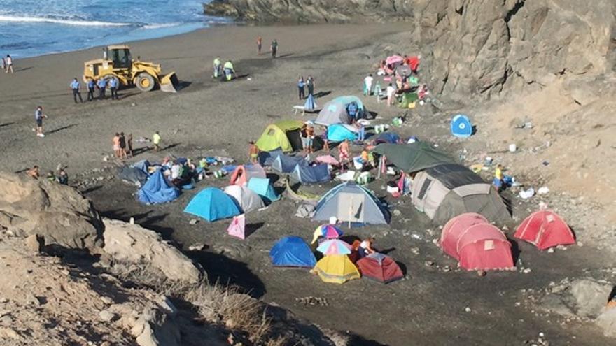 De los desalojos en las playas de Gran Canaria #2