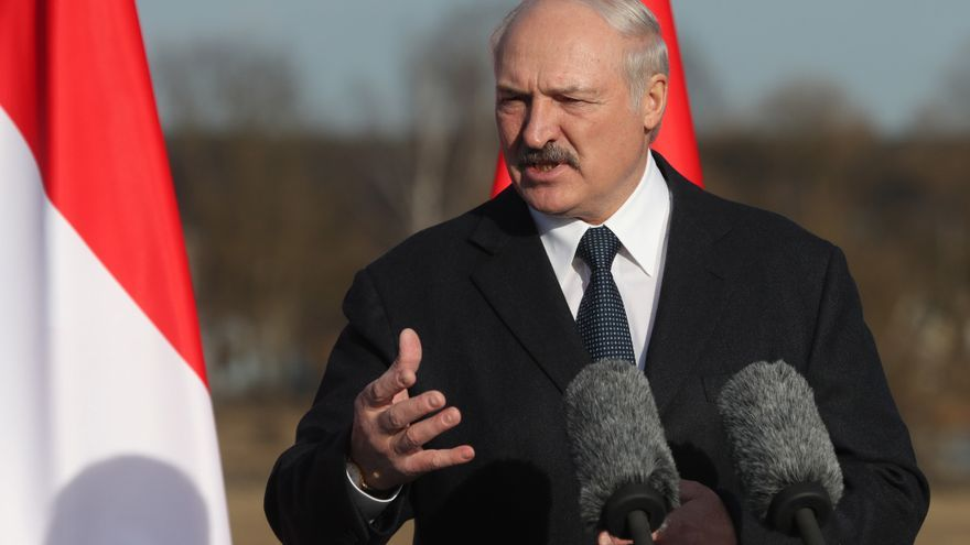 El presidente de Bielorrusia, Alexandr Lukashenko.
