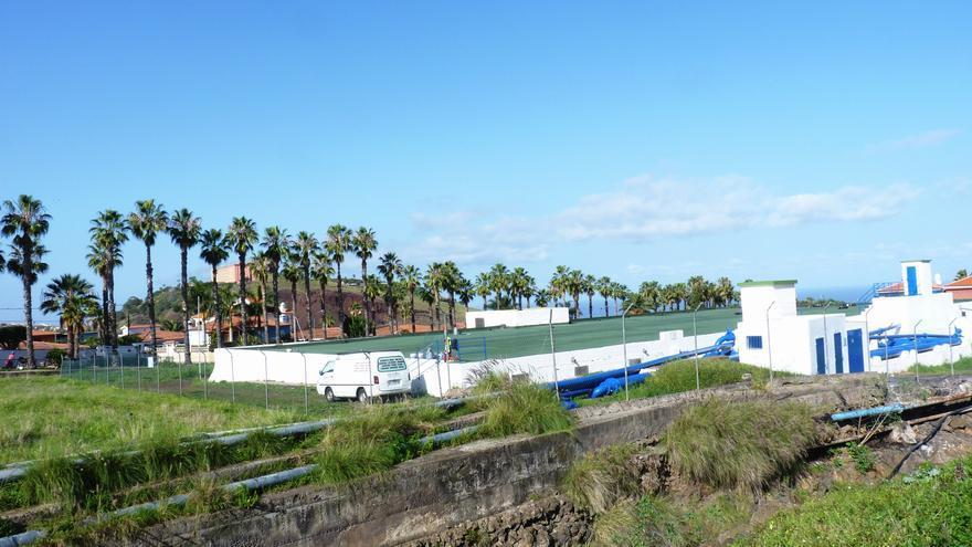 Depósito de San Nicolás en el Puerto de la Cruz.