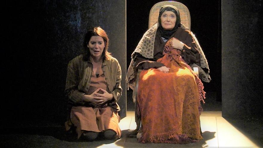Nuria Espert lleva 'Incendios' al Palacio de Festivales
