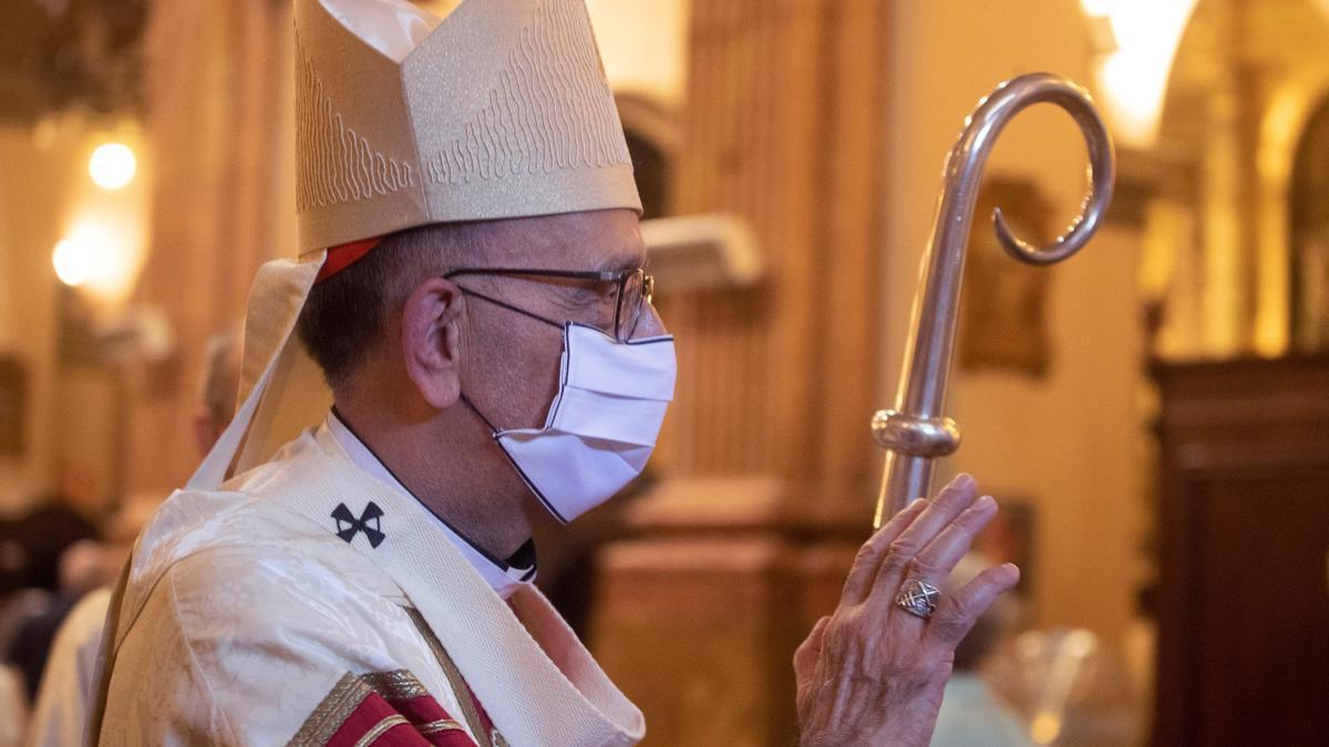 El presidente de la Conferencia Episcopal Española y arzobispo de Barcelona, el cardenal Juan José Omella.