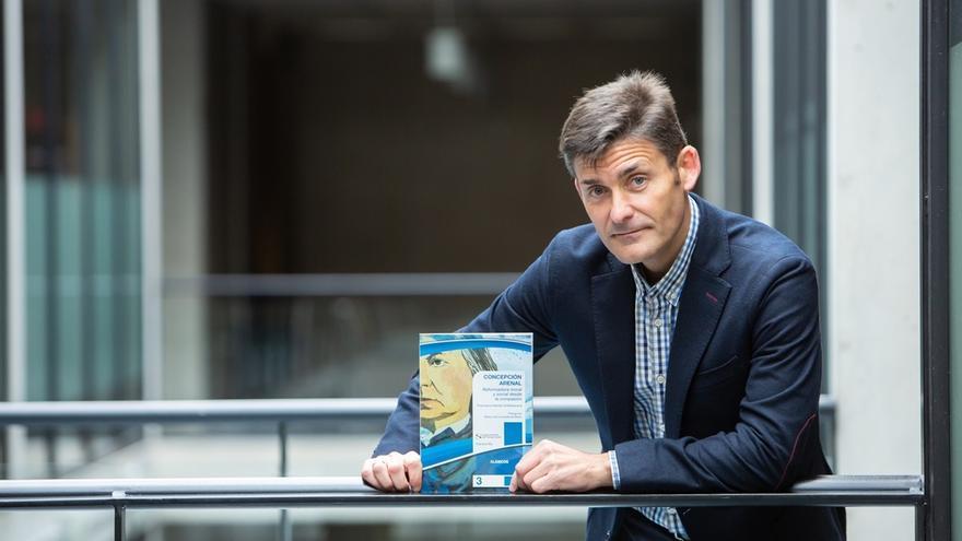 Un profesor de la UPNA reivindica en un libro a Concepción Arenal como una figura clave del Trabajo Social en España