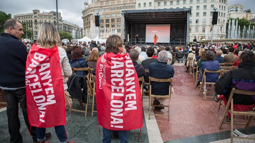 La gent ha respost massivament a la convocatoria de l'acte central de la seva campanya / ENRIC CATALÀ.jpg