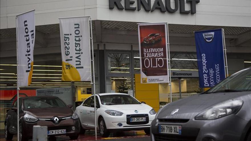 Las ventas de Renault caen un 6,3 por ciento en 2012