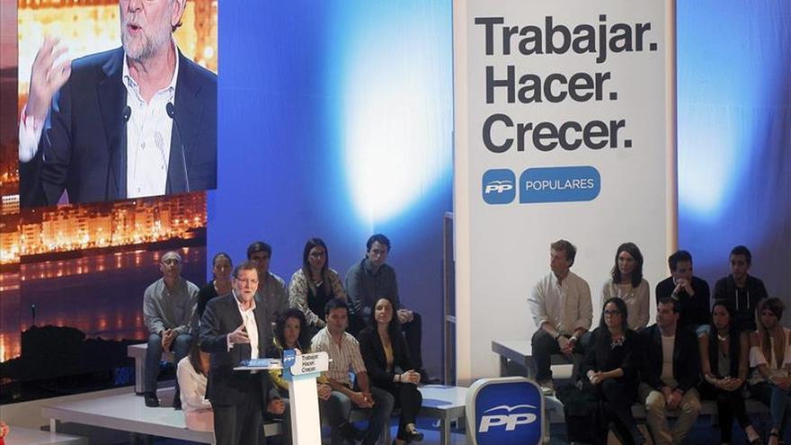 """Rajoy ve en las mayorías absolutas del PP el """"pacto de verdad"""" y de la """"sensatez"""""""