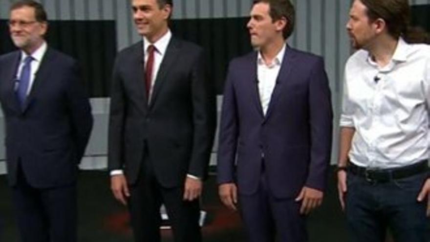 El 'debate a 4' se convierte en la segunda emisión más comentada de 2016