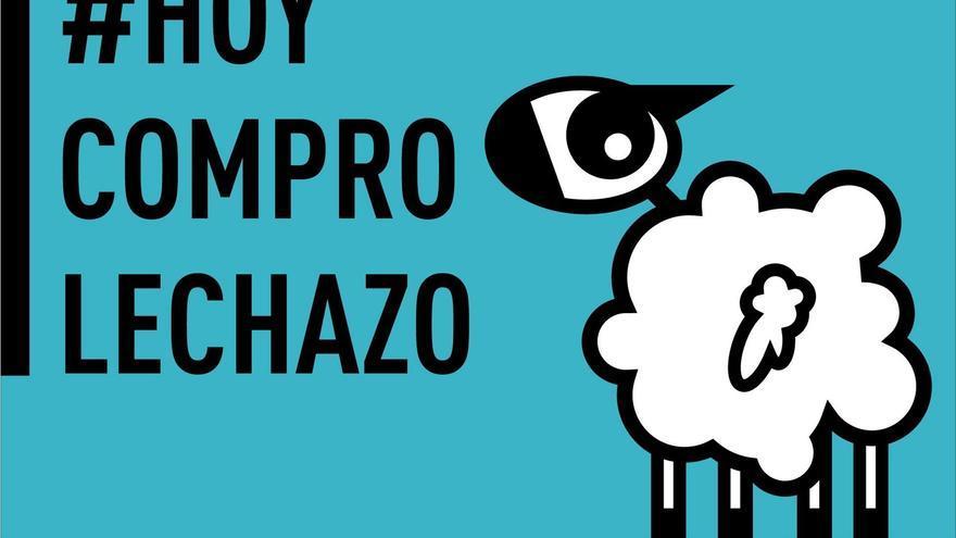 Cartel elaborado por ANCHE para la campaña de promoción de la compra y consumo de lechazo de raza churra.