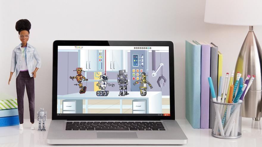 La Barbie ingeniera va acompañada de lecciones sobre programación, lógica y resolución de problemas