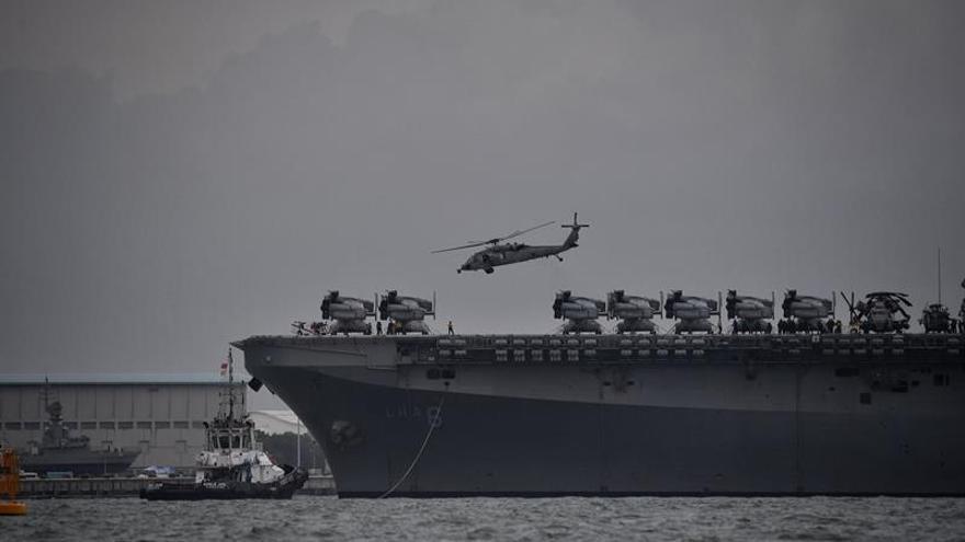 Jefes de la Armada de EE.UU. culpan a los recortes de los últimos accidentes de buques