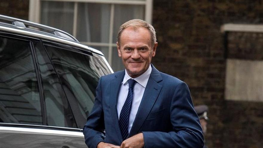 """Tusk no ve """"progreso suficiente"""" para negociar un futuro acuerdo Reino Unido-UE"""