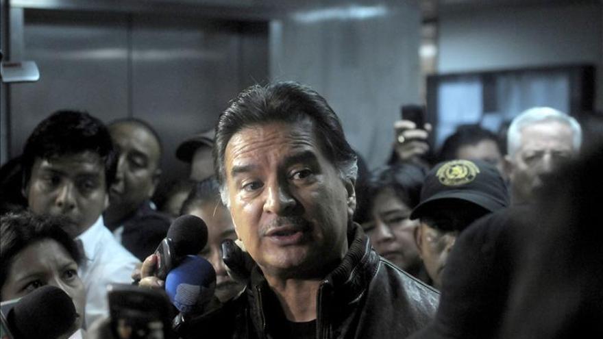 El expresidente de Guatemala Alfonso Portillo será extraditado a EE.UU. en horas