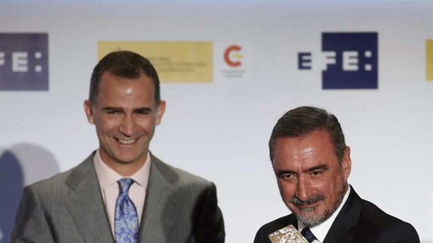 Carlos Herrera, un torero en los Premios Rey de España