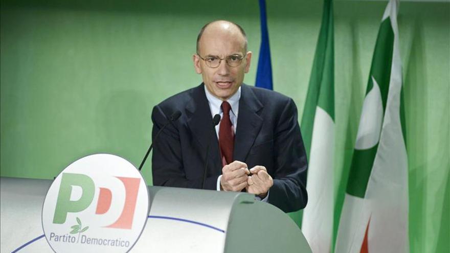 Letta y sus ministros continúan reunidos en Toscana para aunar posiciones