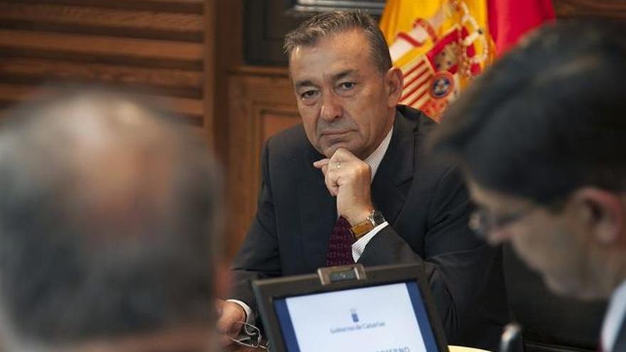 El presidente del Gobierno de Canarias, Paulino Rivero.