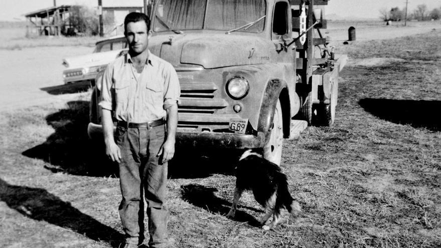 Arturo Pérez Cebrián, uno de los protagonistas de 'Borregueros', hacia 1962.