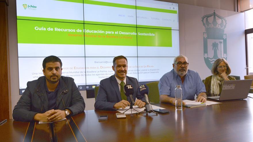 Presentación de la 'Guía de Recursos de Educación para el Desarrollo Sostenible' de la Reserva Mundial de la Biosfera La Palma.