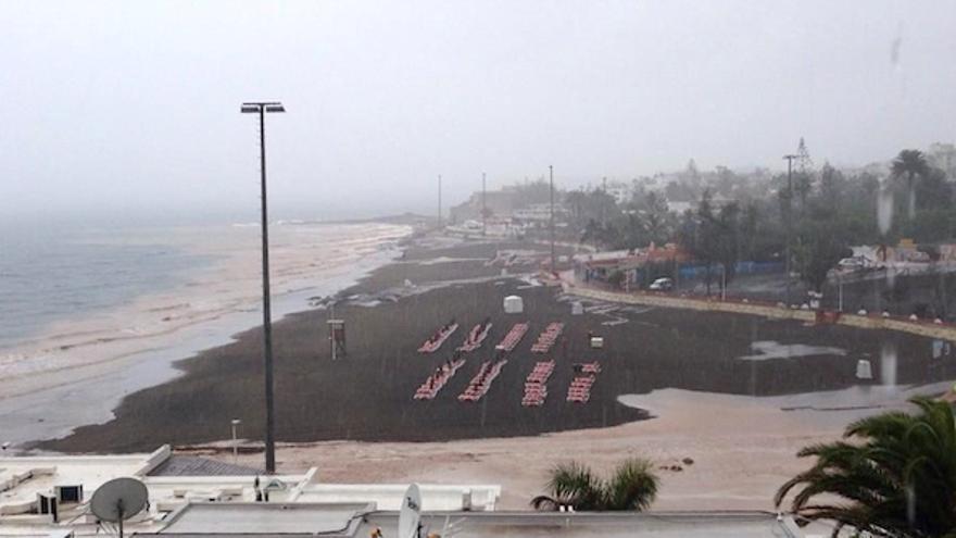 Playa de San Agustín en Gran Canaria.