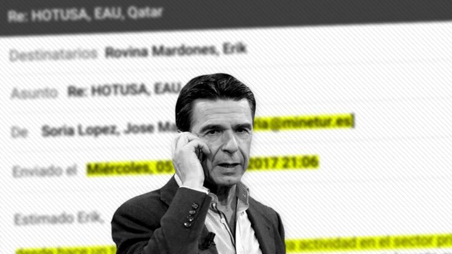 El exministro de Industria José Manuel Soria