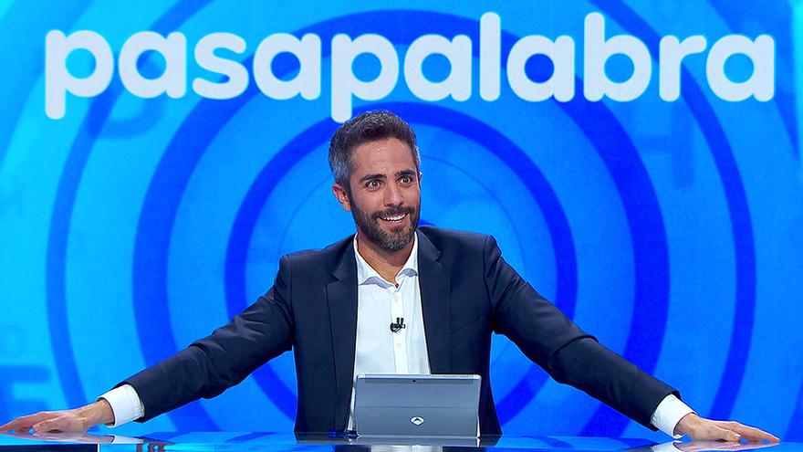 Roberto Leal en su debut en 'Pasapalabra'