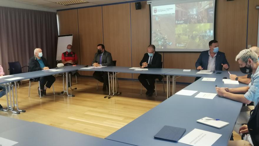 Reunión en Pamplona para abordar los incidentes en los botellones