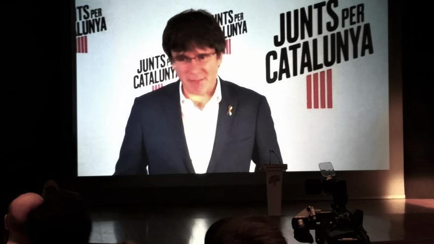 Puigdemont critica que Sánchez no se reúna con Torra en su visita a Barcelona