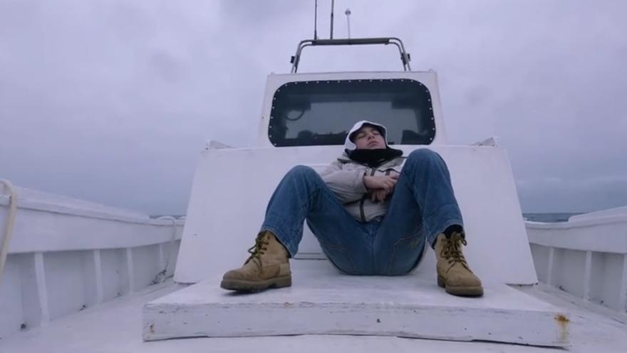 Fotograma del filme 'Fuocoammare', que se ha llevado el Oso de Oro en la Berlinale.