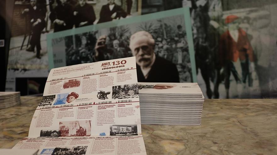 Expo0sición 130 años UGT