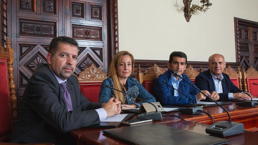 Grupo Popular en el Ayuntamiento de Santa Cruz de La Palma.