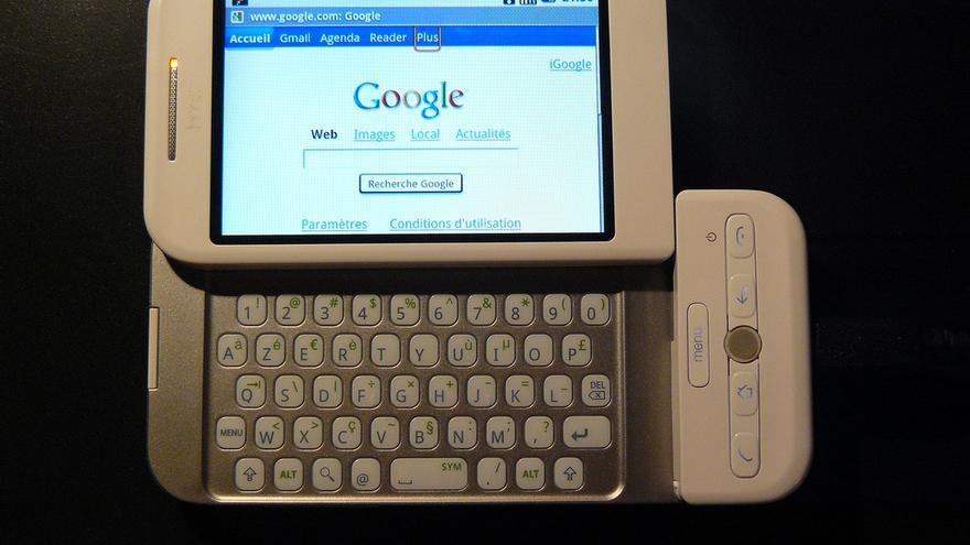 HTC Dream, el primer 'smartphone' que tenía Android como sistema operativo