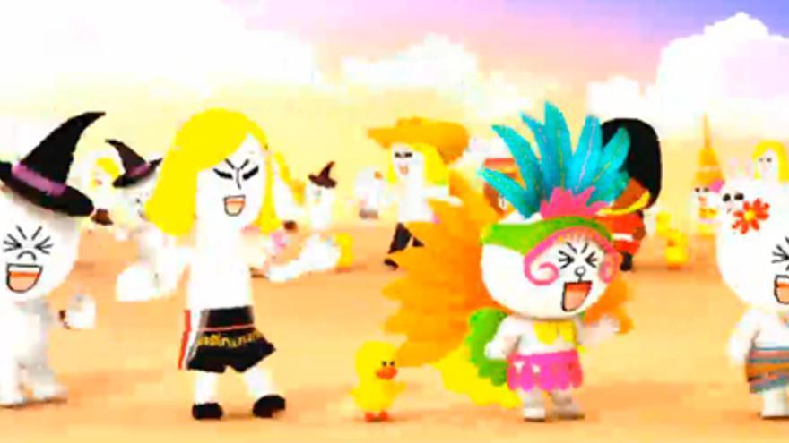 Captura de pantalla del evento de Line en Tokio (Foto: HojaDeRouter.com)