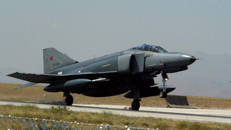 Turquía vuelve a bombardear las bases de la guerrilla kurda en el norte de Irak