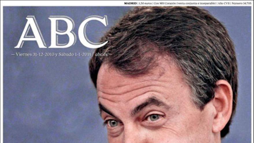 De las portadas del día (31/12/2010) #2