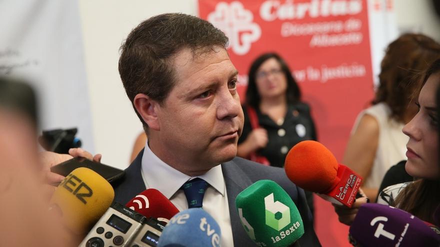 Emiliano García-Page, hoy en Albacete