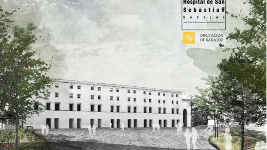 Diputación Badajoz Plan Director Hospital Provincial