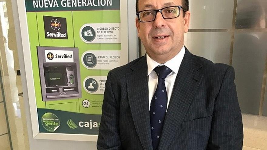 José Manuel Garrido, director de Relaciones Institucionales y Comunicación de Cajasiete