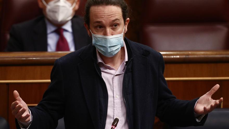 El secretario general de Podemos y vicepresidente segundo del Gobierno, Pablo Iglesias, en una imagen de archivo