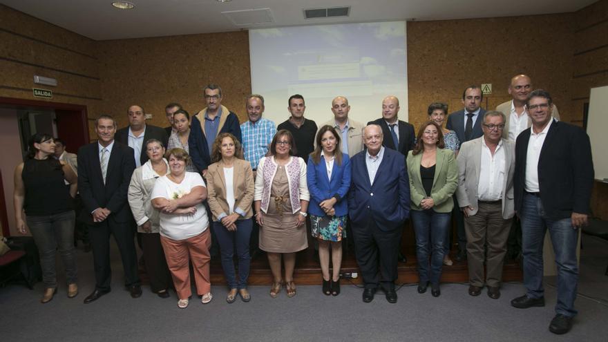 Reunión del Consejo Canario de la Salud de este lunes 13 de octubre.
