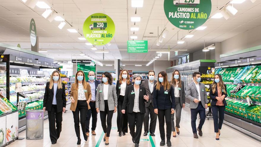 Mercadona invertirá más de 140 millones de euros en los próximos cinco años para reducir la producción de plástico