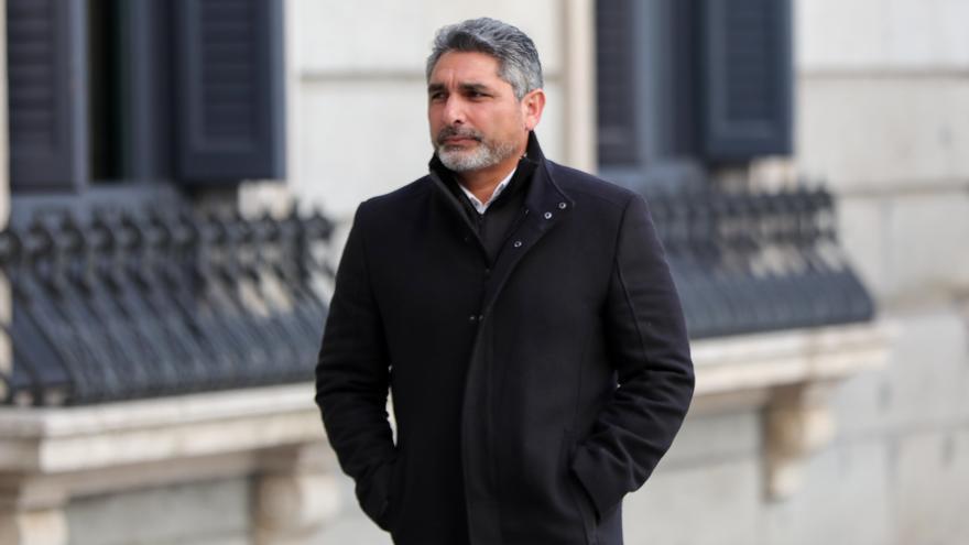 Juan José Cortés fue detenido el lunes acusado de agresión.