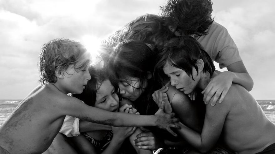 Póster de 'Roma', de Alfonso Cuarón