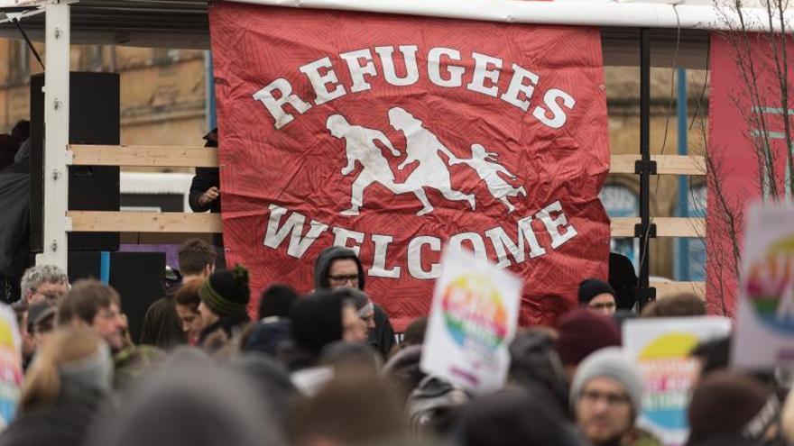 La mitad de los refugiados llegados a Alemania tiene ya empleo