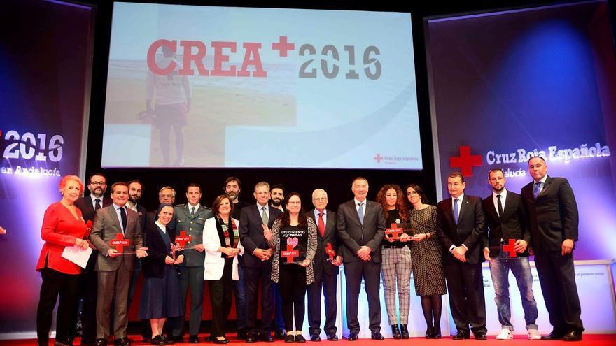 Cruz Roja en Andalucía premia a la Fundación Vicente Ferrer, al programa 'Solidarios' de Canal Sur y al Grupo MAS