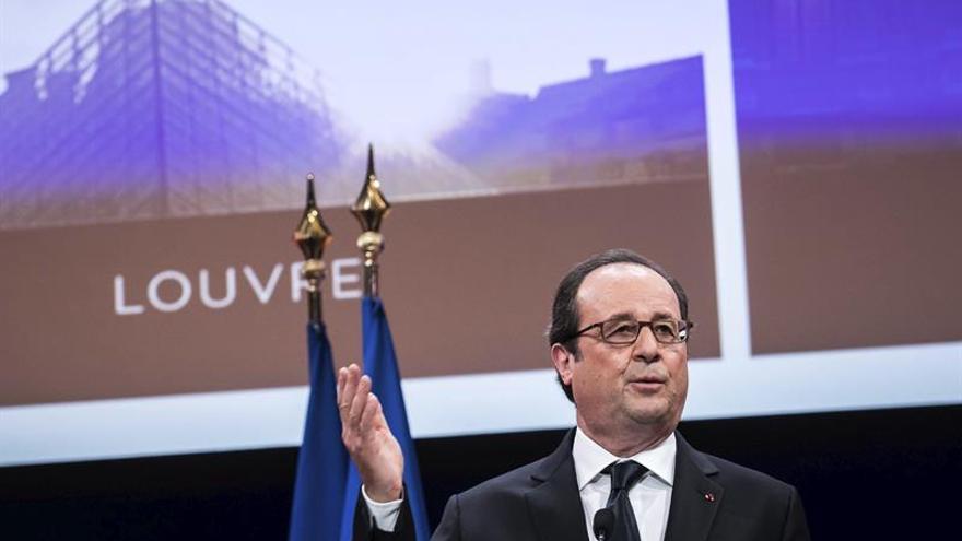El Louvre estrena con Hollande sus nuevos espacios museográficos y de acceso