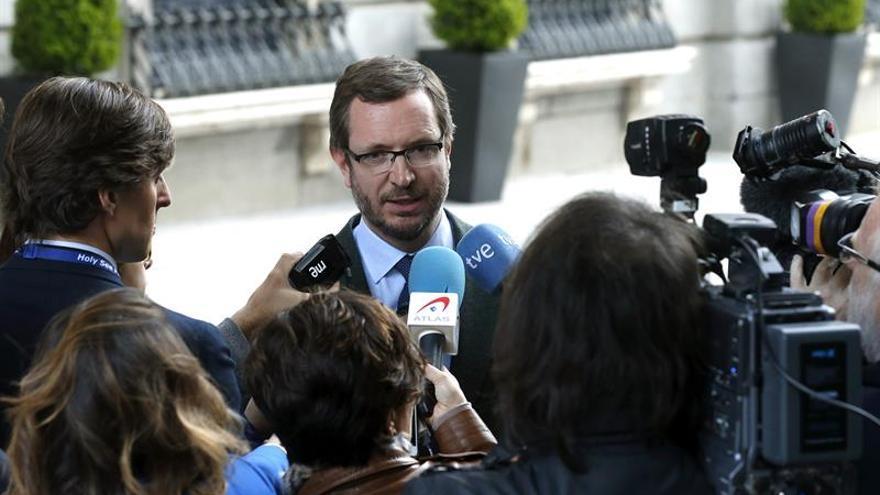 """Maroto pide a Cs que sea justo en Murcia, pero que no sea """"justiciero"""""""