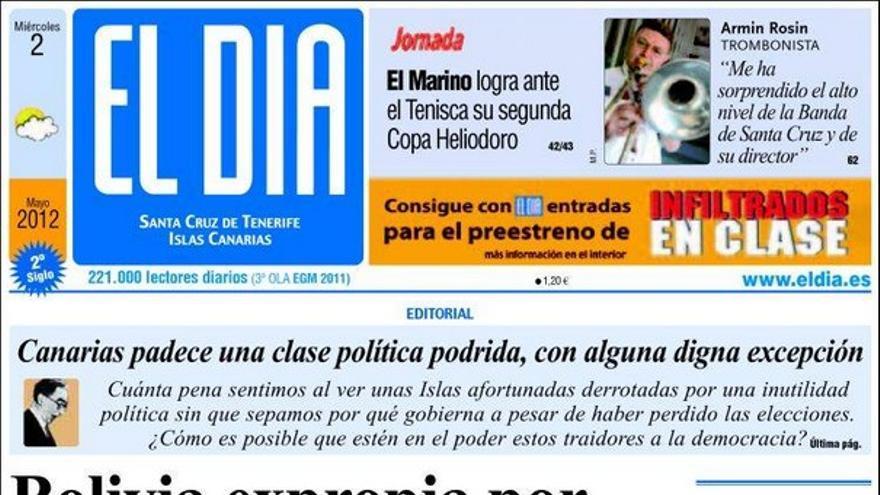 De las portadas del día (02/05/2012) #4