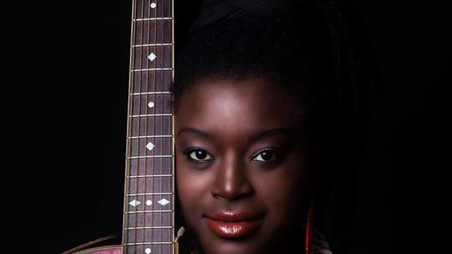 La cantante senegalesa Kya Lum.